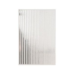 Magic stripes sticker - Srebrna