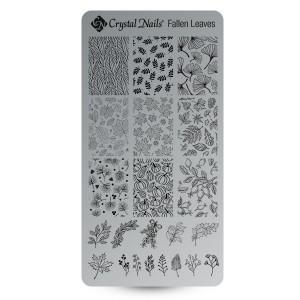 Stamp Ploščica Fallen Leaves