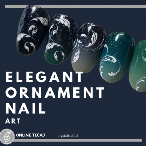 Tečaj ONLINE: Ornament Deco Nail Art