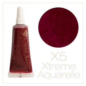 Xtreme aquarell cream paints - X5