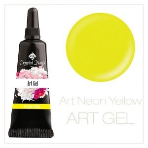 art gel neon yellow 5ml