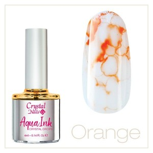 AquaInk Crystal Drops #2 ORANŽ 4ml