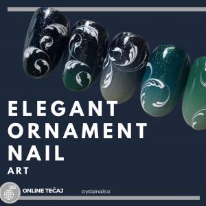 Tečaj ONLINE: Ornament Deco Nail Art