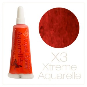 Xtreme aquarell cream paints - X3