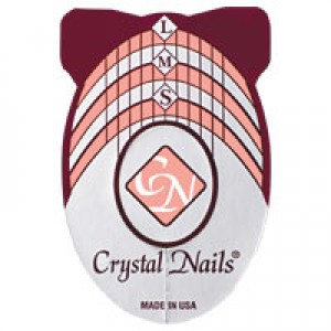 Klasična šablona Crystal Nails 500 pcs
