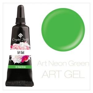 art gel neon green 5ml