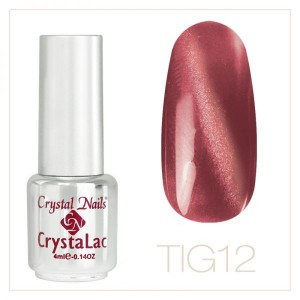 #12 TigerEye CrystaLac 4ml