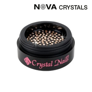 NOVA Swarovski kristali Light Peach SS3(1,4mm)