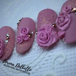 3D Poslikave - Rose flower
