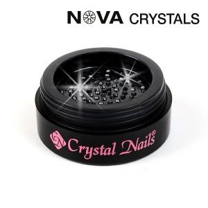 NOVA Swarovski kristali Black SS8(2,4mm)