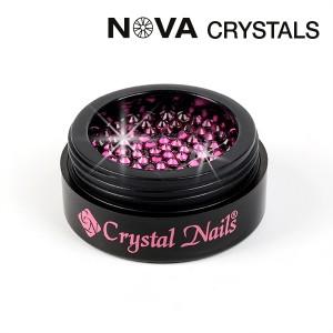 NOVA Swarovski kristali Fuchsia SS3(1,4mm)