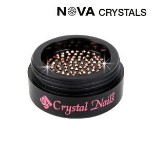 NOVA Swarovski kristali Rosegold SS3(1,4mm)