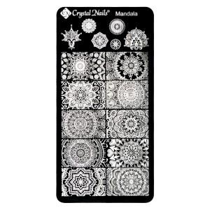 Stamp Ploščica Mandala