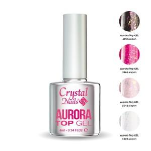Aurora Glitter top gel 4ml