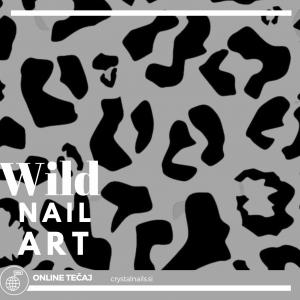 Tečaj ONLINE: Wild Nail Art